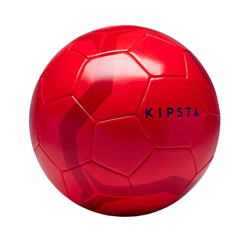 11 FOOTBALL BALLS Football - First Kick Size 5 Ball - Red KIPSTA - Football
