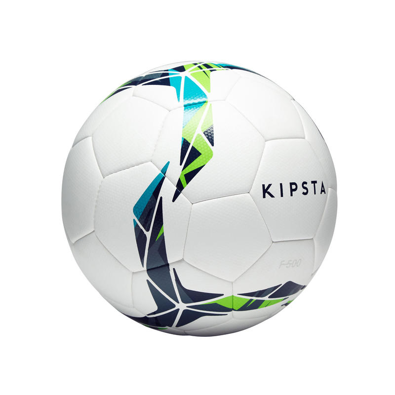 F500 Hybrid Size 4 Football - White/Blue/Green