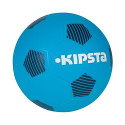 Plastic voetbal Sunny 300 maat 5 blauw