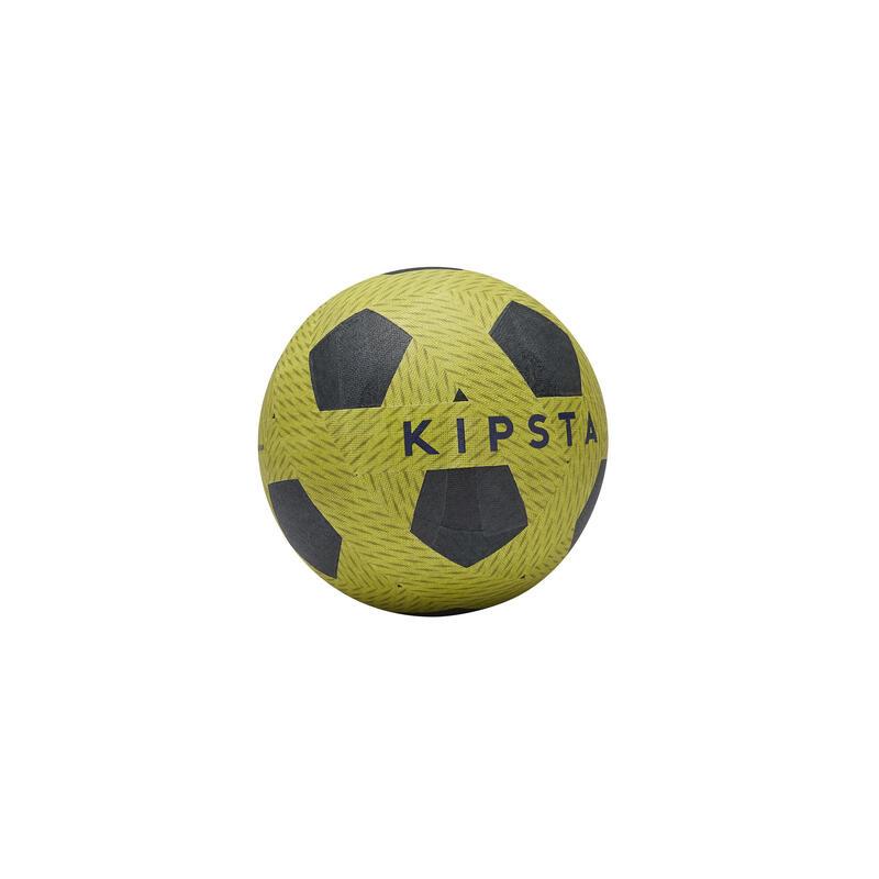 Mini ballon de football Ballground 100 vert et bleu