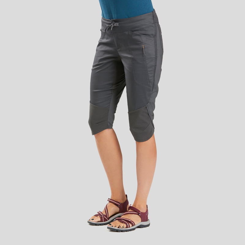 Women's Nature Walking Cropped Trousers - NH500 - 2020