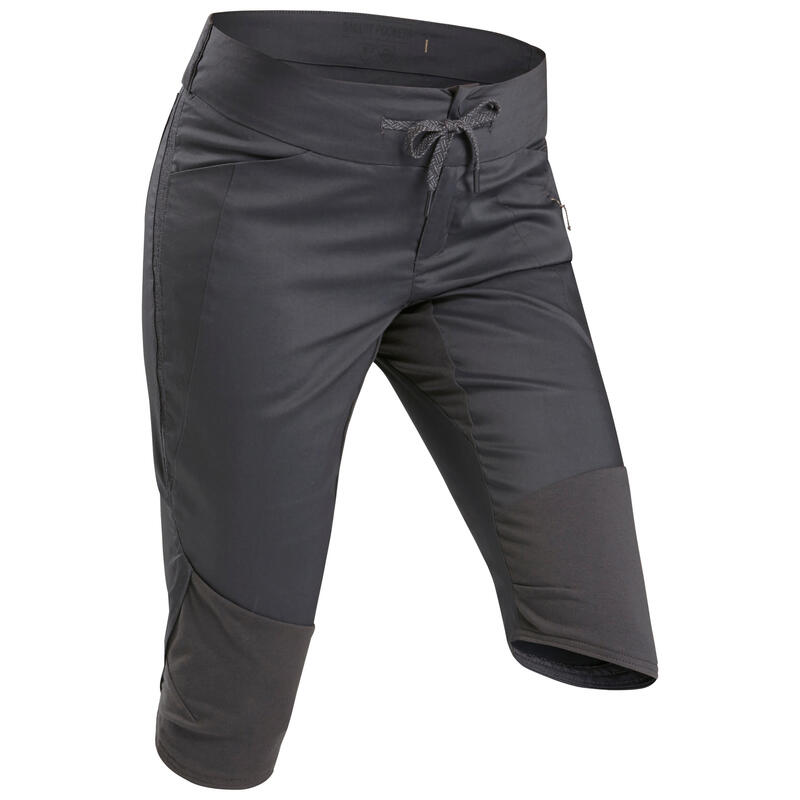 Women's Country Walking Cropped Trousers - NH500