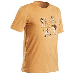 T-shirt wandelen in de natuur Heren NH500