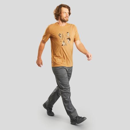 חולצת טי לגברים דגם NH500 לטיולי שטח