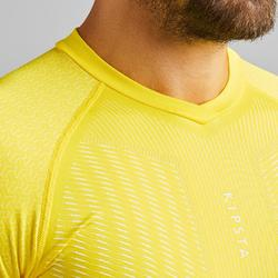 Thermoshirt Keepdry 500 lange mouw geel