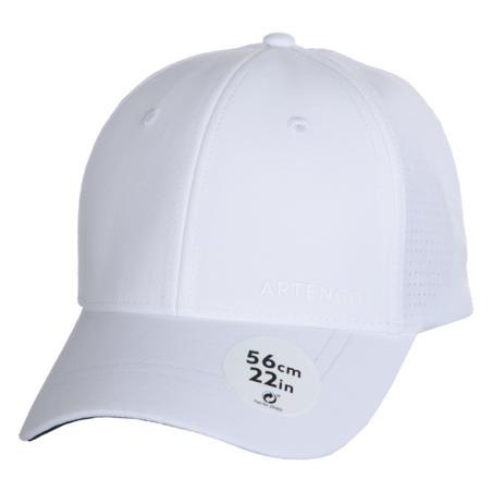 Tennis Cap TC 900 56 cm - White/Navy