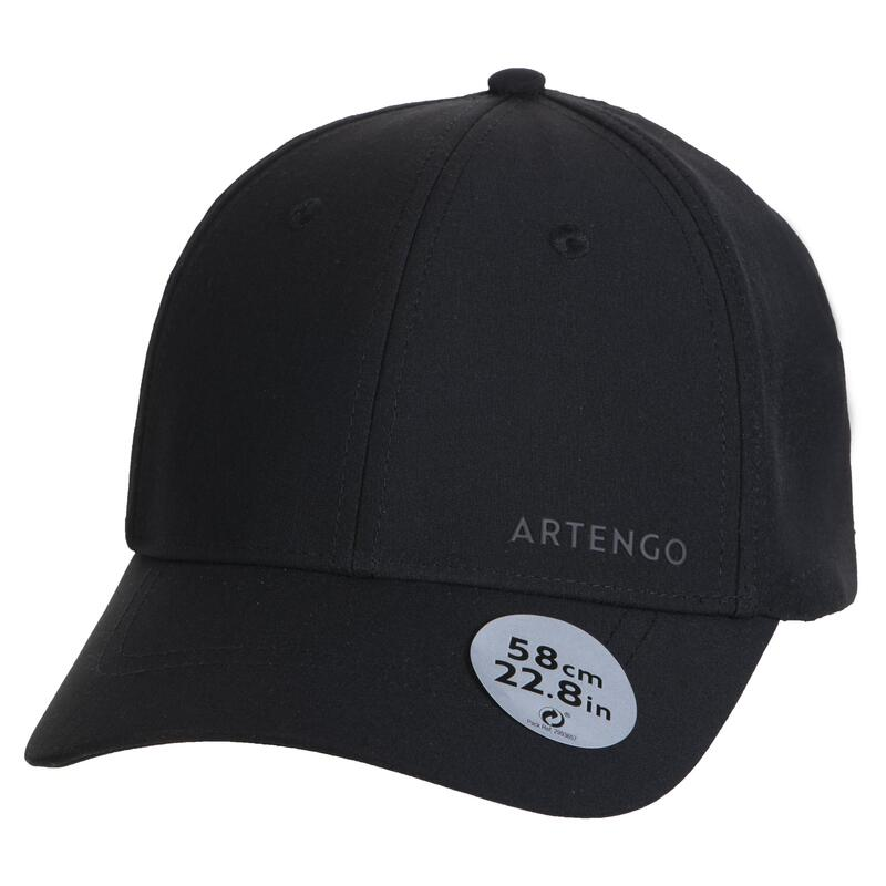 GORRO TENIS ARTENGO TC 900 NEGRO T58