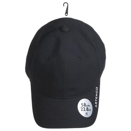 Tennis Cap TC 500 58 cm - Black