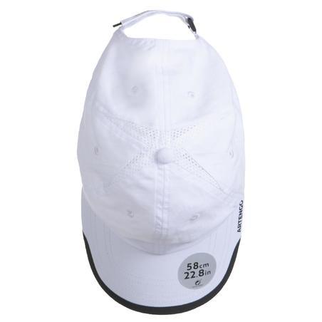 "Bērnu tenisa cepure ""TC 100"", balta"