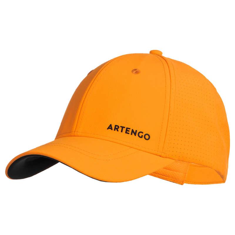 ACCESSORI ABBIGLIAMENTO SPORT DI RACCHET Sport di racchetta - Cappellino tennis TC900 giallo ARTENGO - TENNIS