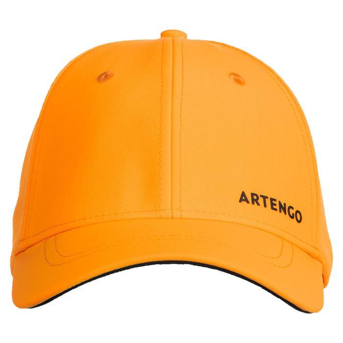 網球帽TC 900(58 cm)-黃黑配色