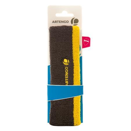 Sport Headband - Grey/Yellow