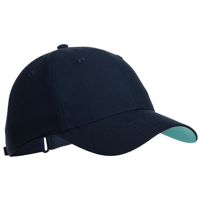 Tennispet TC 500 marineblauw/turkoois maat 56