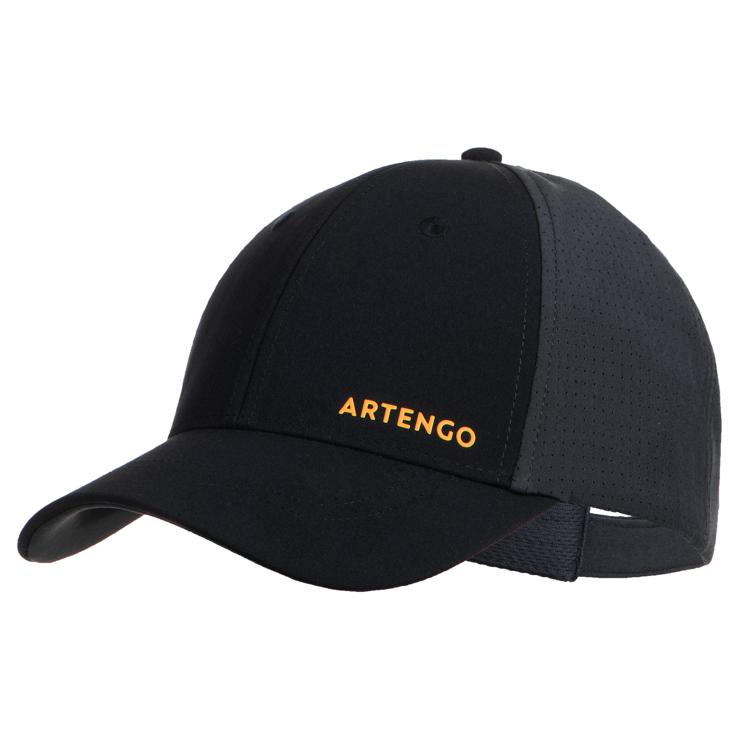Schirmmütze Tennis-Cap TC 900 Gr.58 schwarz/grau
