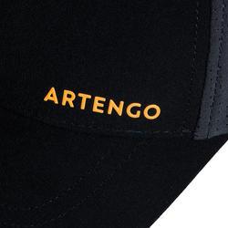 網球帽TC 900 T58-黑灰配色