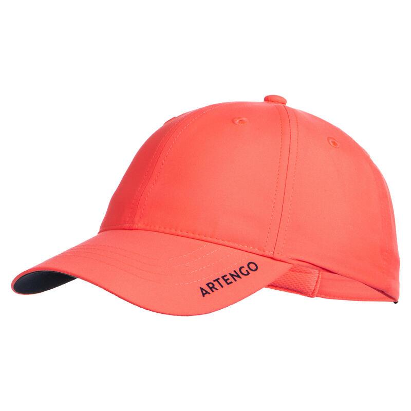 Tennispet TC 500 roze/marineblauw maat 54