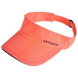 網球遮陽帽TV 100 T56 -粉黑配色