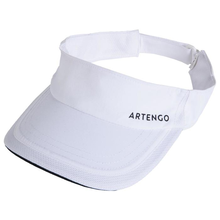 VISIERE DE TENNIS ARTENGO TV 100 BLANC T56