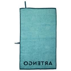Handdoek tennis Artengo TS 100 groen