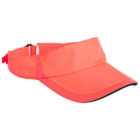 Visor Tenis TV 100 T56 - Merah Muda/Hitam