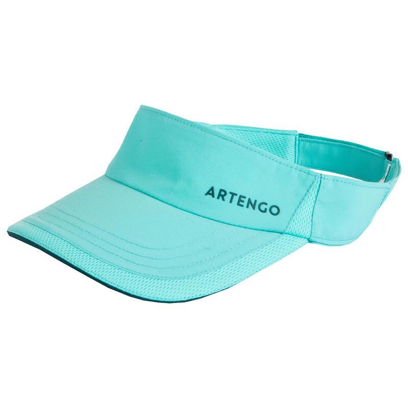 網球遮陽帽TV 100 T56 - 淺碧藍綠配色