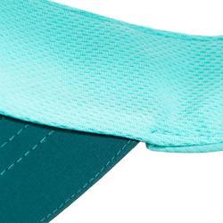 Tennis Visor TV 100 T56 - Turquoise/Green