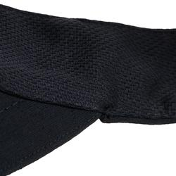 網球遮陽帽TV 100(56 cm)- 黑色