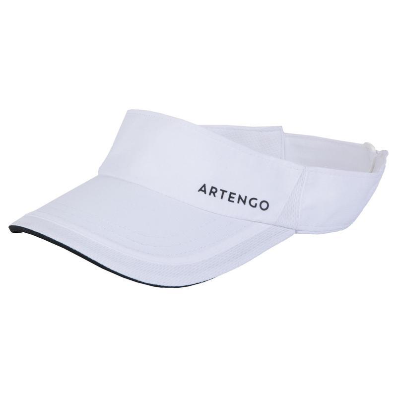 56 cm網球遮陽帽TV 100-白色