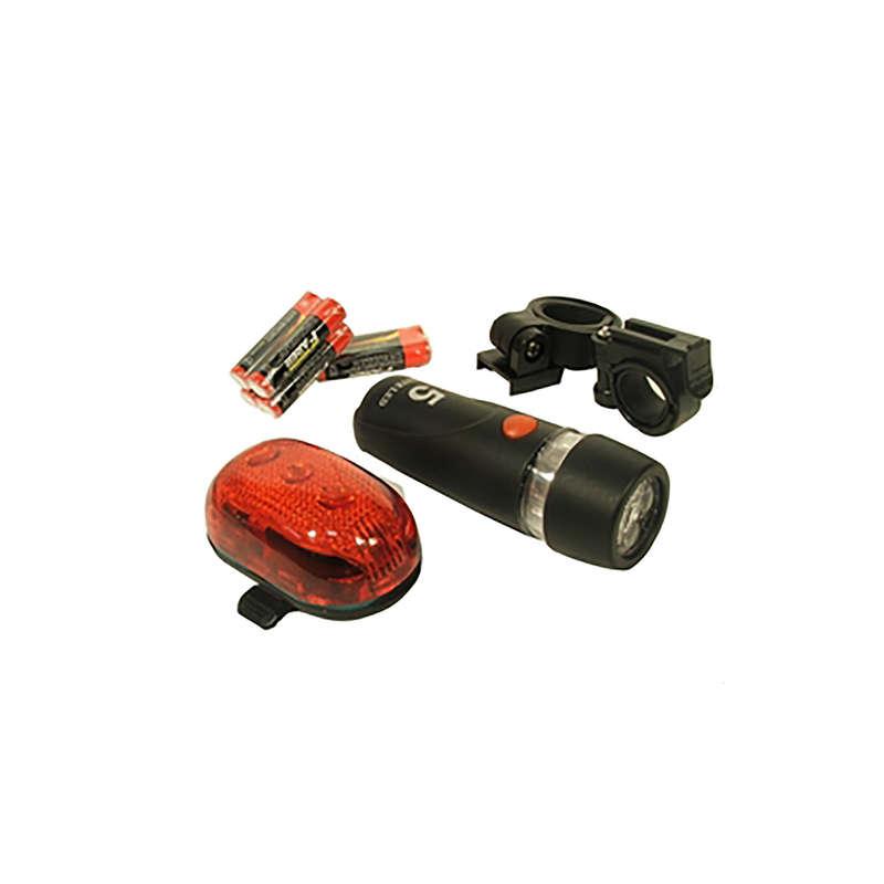 Kerékpáros világítás Elektronika - Világitás garnitúra 5 led-es NEUZER - Elektronika
