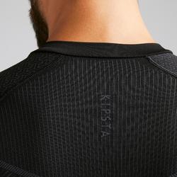 Thermoshirt Keepdry 500 lange mouw zwart unisex
