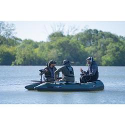 Bateau pneumatique X-Ploder Alpha Trooper 270 pour la pêche à la carpe.