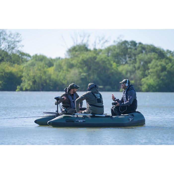 Rubbere visboot X-Ploder Alpha Trooper 270 voor karpervissen