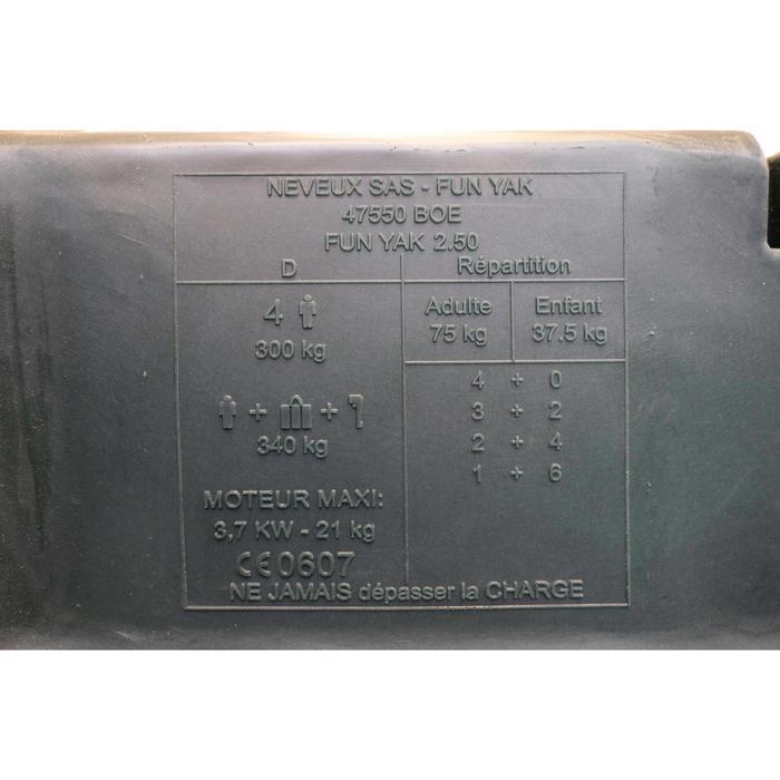 BARQUES DE PECHE BASIC 250