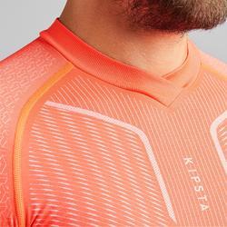 Thermoshirt Keepdry 500 lange mouw oranje