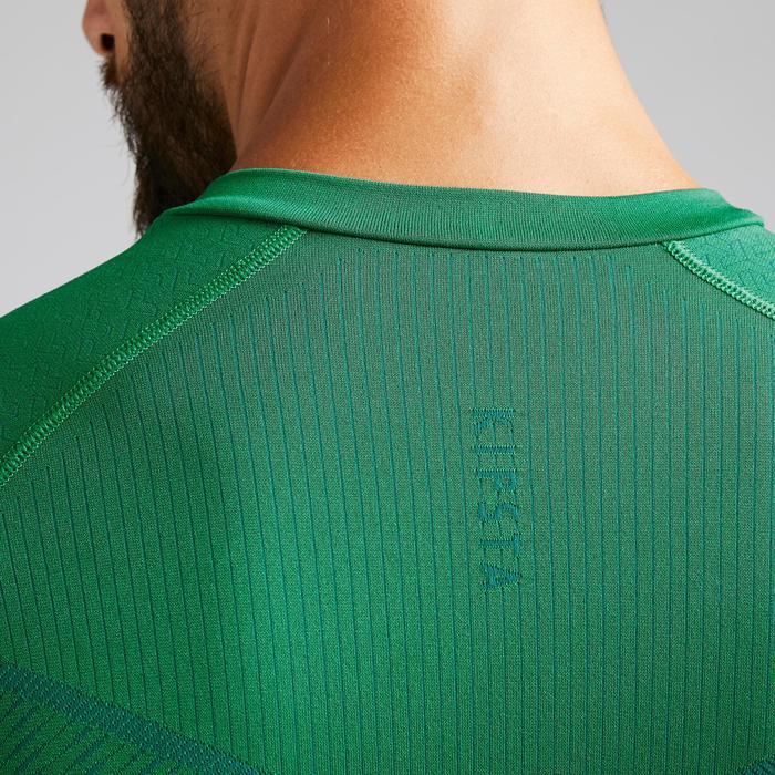 Funktionsshirt Keepdry 500 atmungsaktiv Erwachsene grün