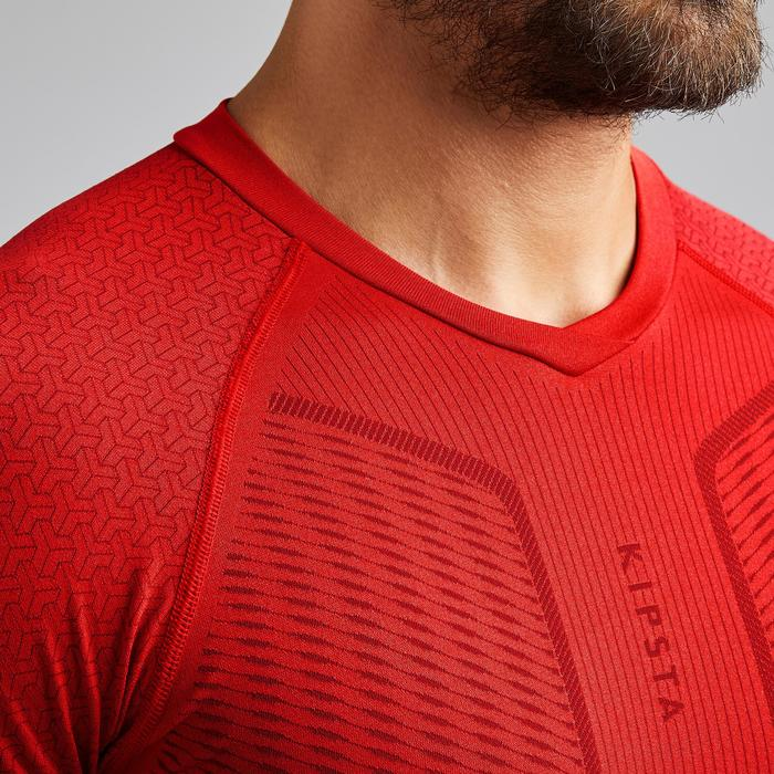 Thermoshirt Keepdry 500 lange mouw rood