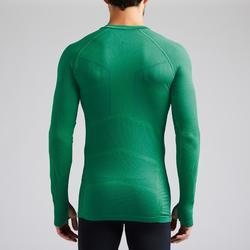 Thermoshirt Keepdry 500 lange mouw groen unisex