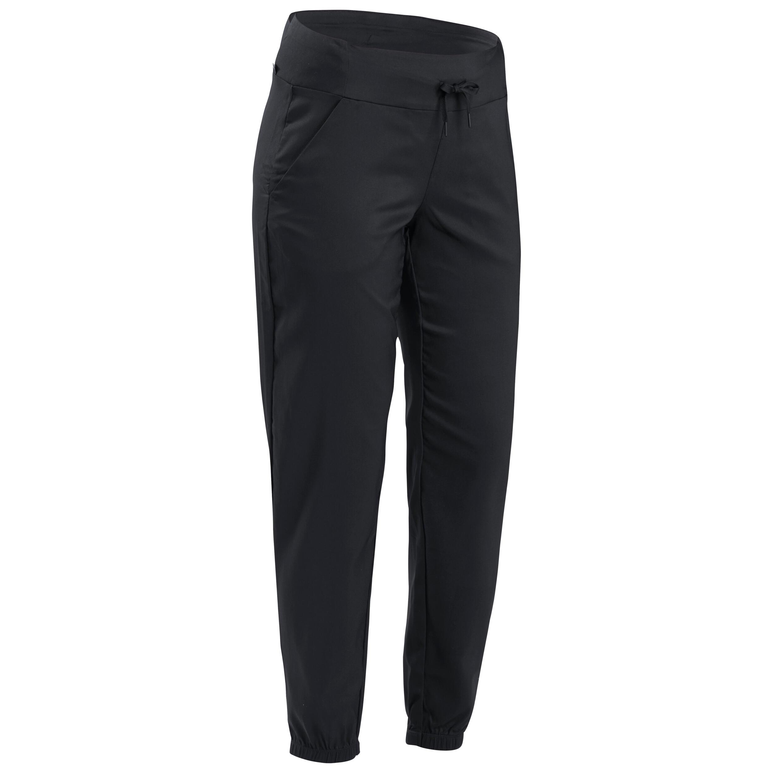 Pantalon NH100 Negru Damă la Reducere poza