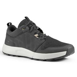 NATURE HIKING SHOES - NH150 - BLACK - MEN