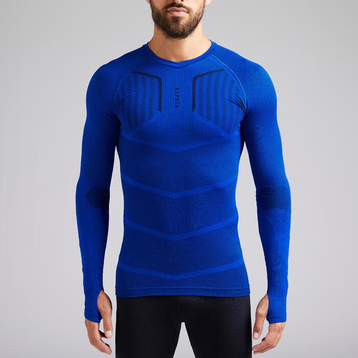 Sous-vêtement adulte Keepdry 500 bleu indigo
