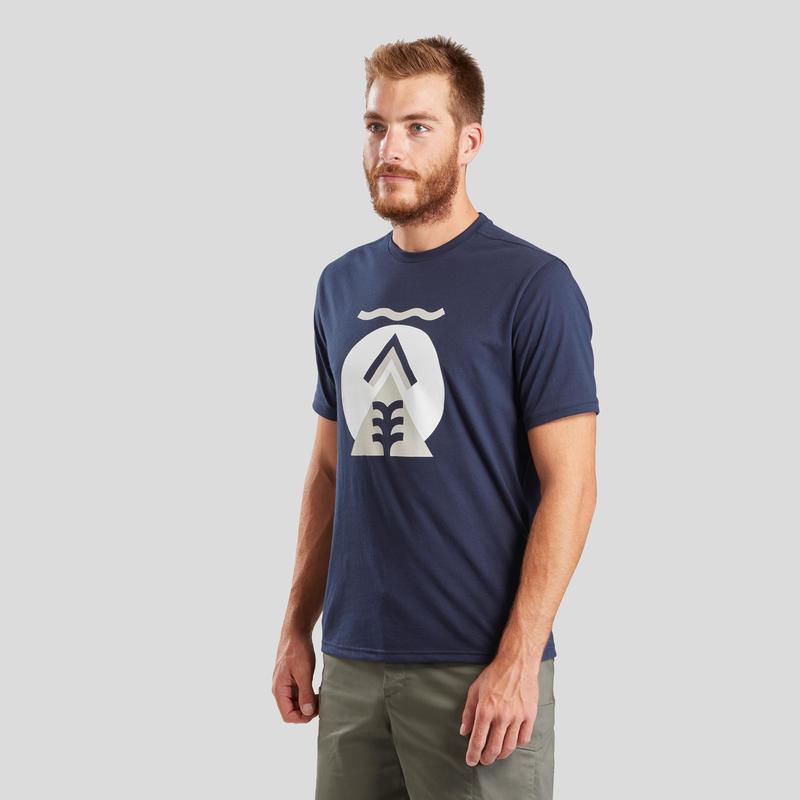T-shirt de randonnée nature - NH500 - Homme