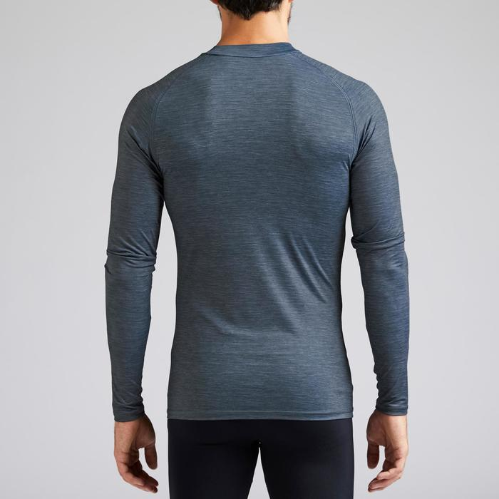 Thermoshirt Keepdry 100 lange mouwen grijs unisex