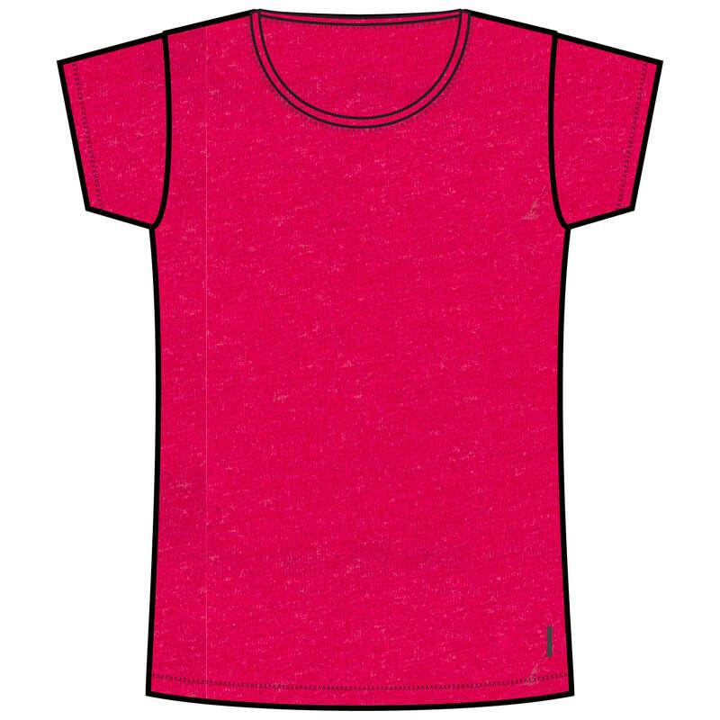 NŐI PÓLÓ, LEGGING, RÖVIDNADRÁG Fitnesz - Női póló 500-as NYAMBA - Fitnesz
