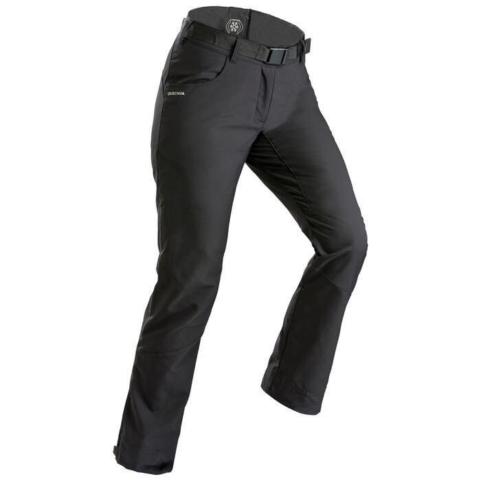 Women's Snow Hiking Warm Water Repellent Trousers SH100 X-Warm