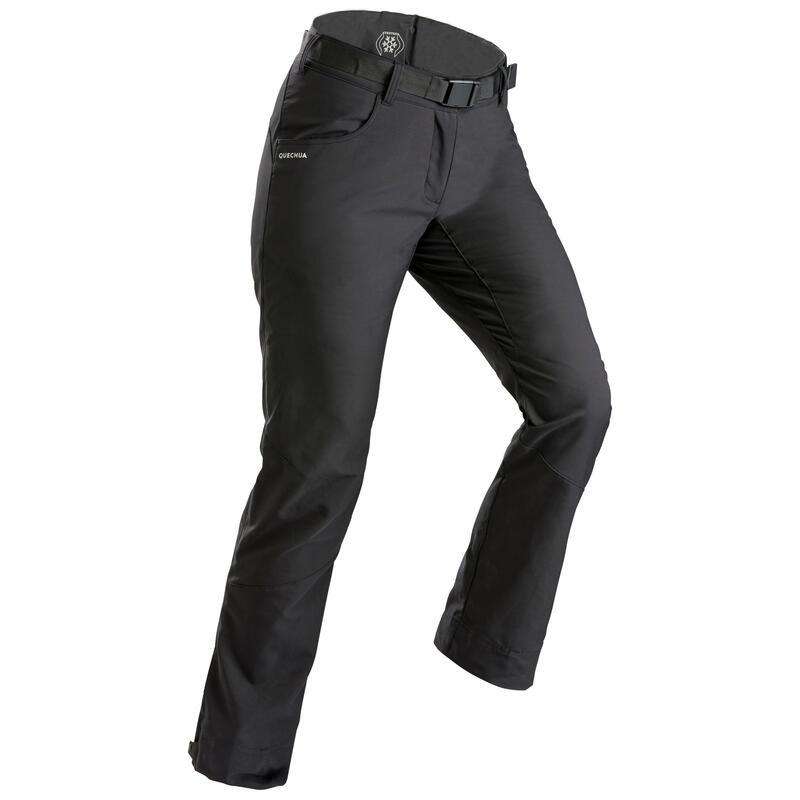 Pantalon chaud déperlant de randonnée - SH100 X-WARM - Femme