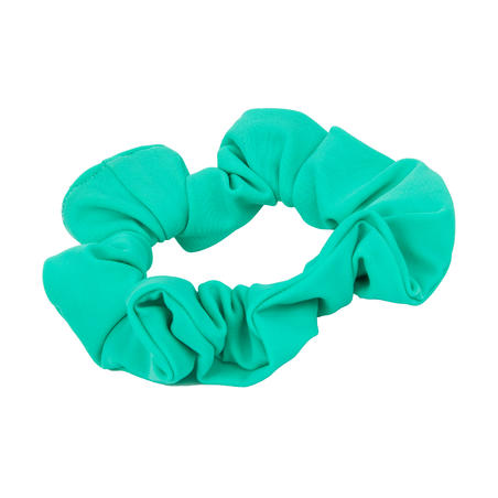 Girls' Swimming Hair Scrunchie - Green