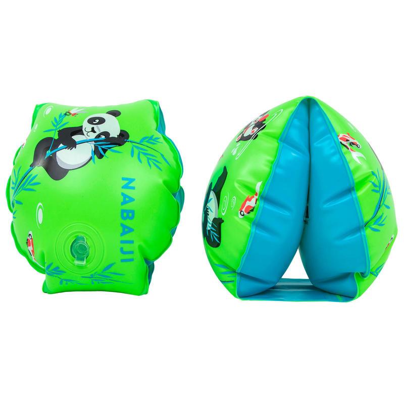 Braccioli nuoto 11-30 kg PANDA verde