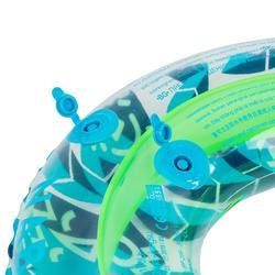 Bouée gonflable 65 cm transparente imprimée pour junior 6-9 ans