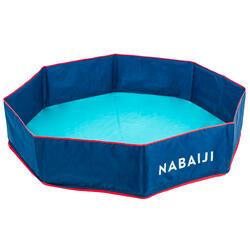 Piscina pequena criança TIDIPOOL+ azul e Saco transporte estanque 120cm diâmetro