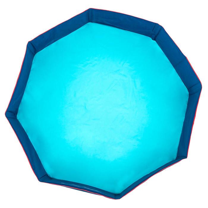 Piscinette enfant TIDIPOOL + bleu avec sac de transport étanche 120 cm diamètre